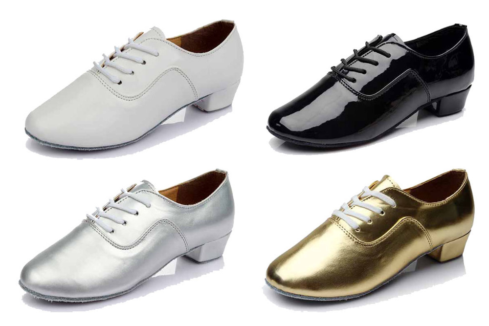 Great Discounts&Coupons!!!/High Quality White Men Latin Dance Shoes/Economic Dance Shoes/Salsa&Tango/4 Colors(China (Mainland))