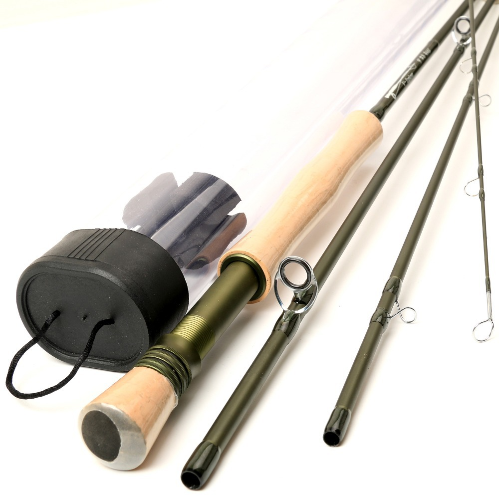 Maximumcatch Full-well Handle SK Carbon Fiber Fly Fishing Rod 9FT 8WT 4PCS Fly Fishing Rod Fast Action Fly Rod(China (Mainland))