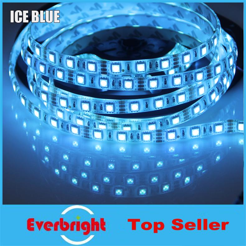 2015 New Arrival 10 Rolls 50 Meter SMD 5050 Led Strip Flexible Light 60leds/m,Dream Color Ice Blue,IP65 Waterproof,DC12V,5m/lot<br><br>Aliexpress