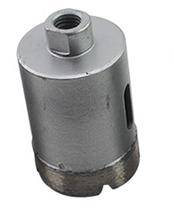Envío gratis de alta calidad 1 unid alta quuality agujero mármol sierra de diamante 35 mm M10 interno roscado para mármol / perforación de hormigón