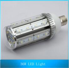 36W E40 High Power Street LED Corn light Energy Saving Lamp Aluminum Workshop Light Industrial Light Bulb 10PCS(China (Mainland))
