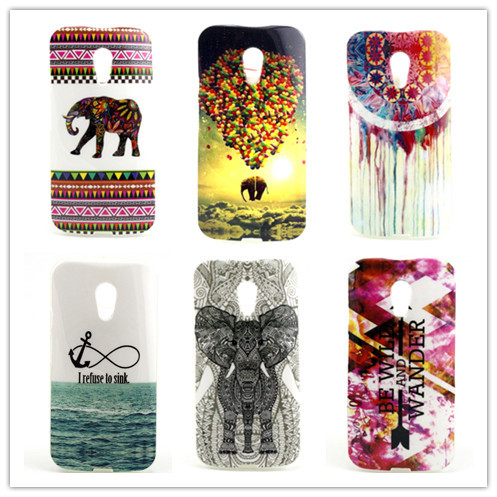 2014 New Painting TPU Soft Case For Motorola Moto G2 G+1 XT1063 XT1068 XT1069 Back Cases For Moto G 2nd Gen Phone Cover PY(China (Mainland))