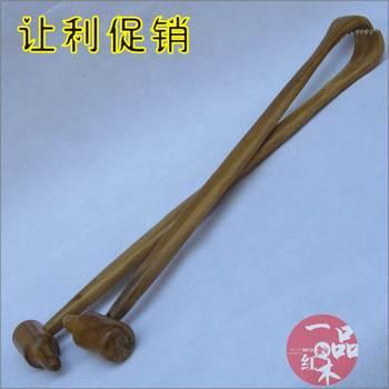 Don't wool small massage wooden back scratcher hammer massage stick back massage device of the meridian