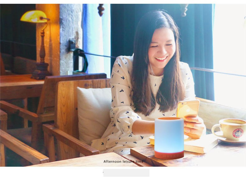 LED lamp Bluetooth speaker (3)