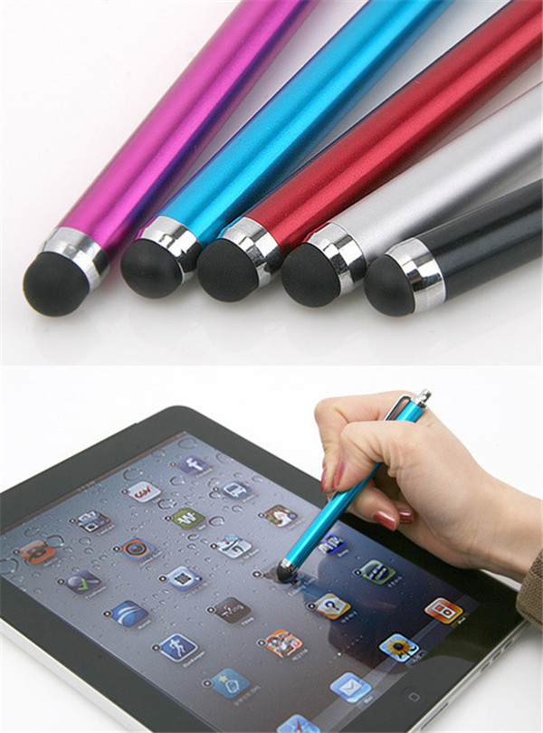 2 pcs/lot hot Selling Universal Mobile Phone Stylus Capacitive Stylus Touch Screen Pen for Tablet PC Pad for iPhone Smartphone(China (Mainland))