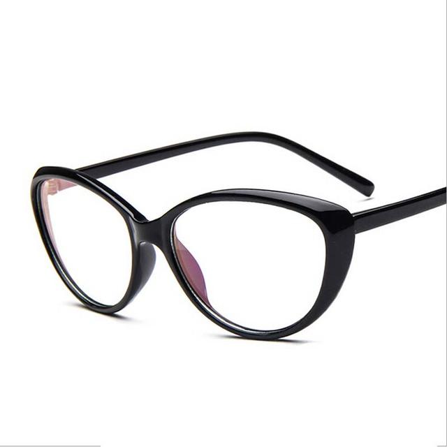 2016 новинка кошка очки кадров для женщины старинные модной оптические очки женский ...