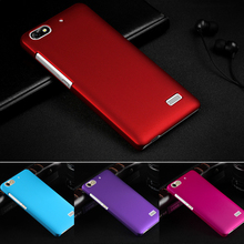 Luxury Matte PC Case Ultra Thin Slim 10 Color Frosted Case Back Cover for Huawei Honor 4C Free Shipping