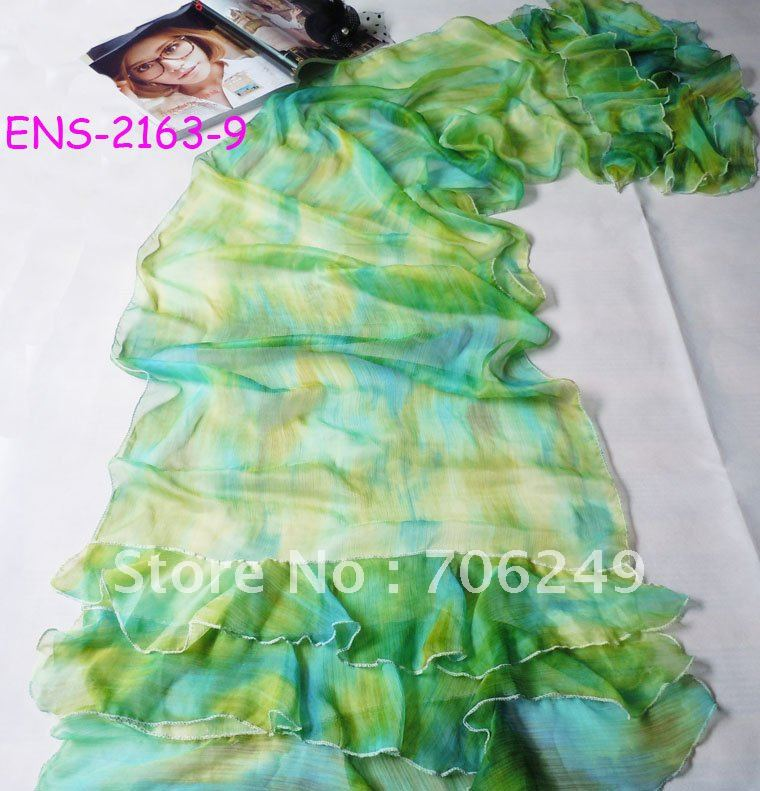 ,patchwork shawl,lace scarf,women,s scarf,muslim hijab,2012 new design,50*190cm,fashion ladies shawl - ELLEN FASHION ACCESSORIES store