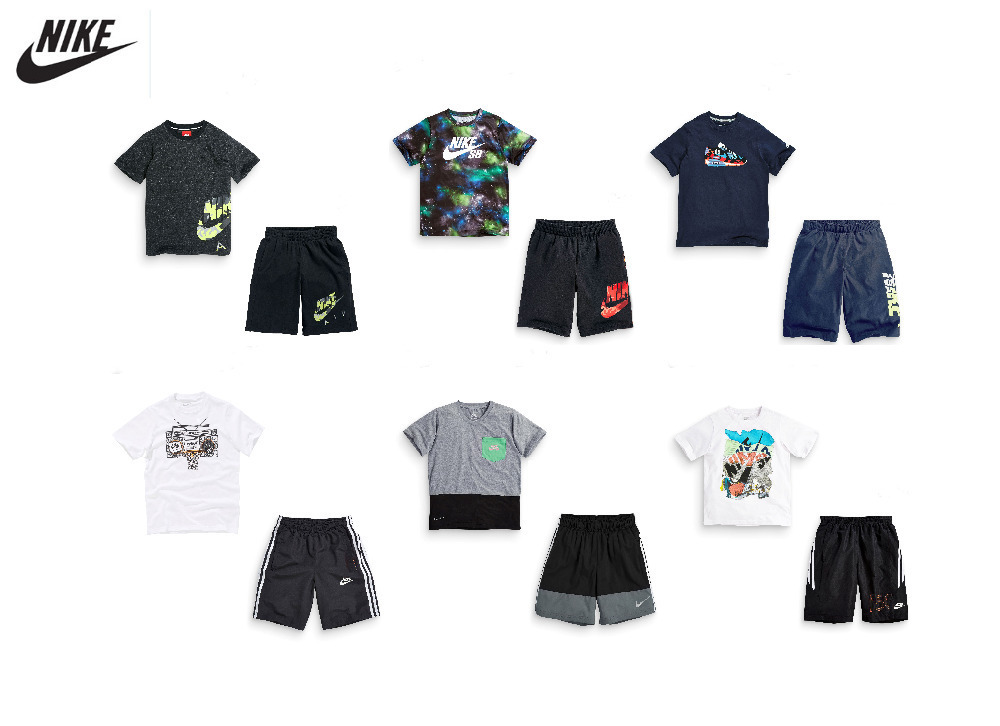 New!child clothing boys Fashion sports suit kids boys sport T-shirt + shorts pants set 3-10T baby boy clothes free shipping!(China (Mainland))