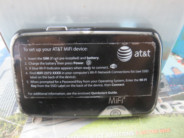 AT&T ATT 3G LTE Hot Spot NOVATEL MIFI2372 wireless Modem Mobile Device(China (Mainland))