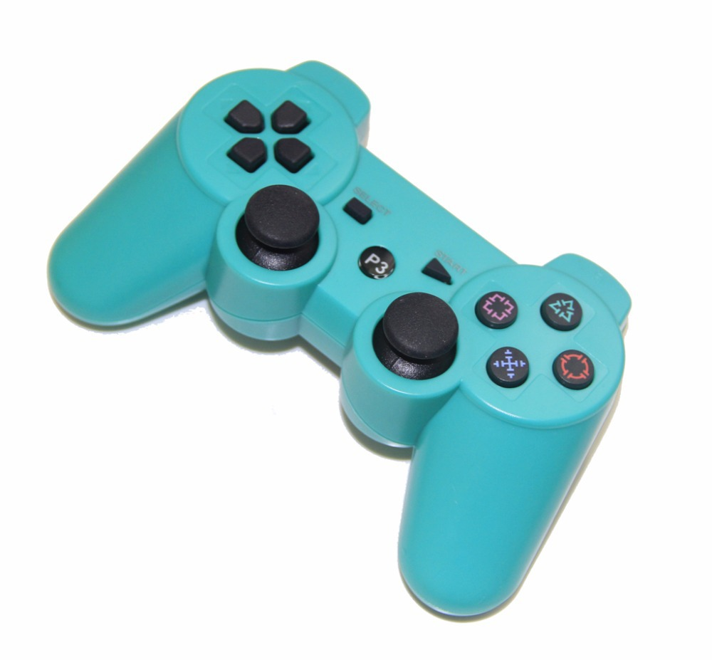 Gaming Accessories For PlayStation 3 Dualshock 3 Bluetooth Wireless joystick Controller for PS3- Blue(China (Mainland))