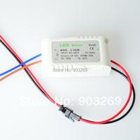 Hot Sale 5PCs (5-9) x 3W Led transformer power supply  Input 85-265V Output 18-32V 600MA High Power LED Driver For LED Light