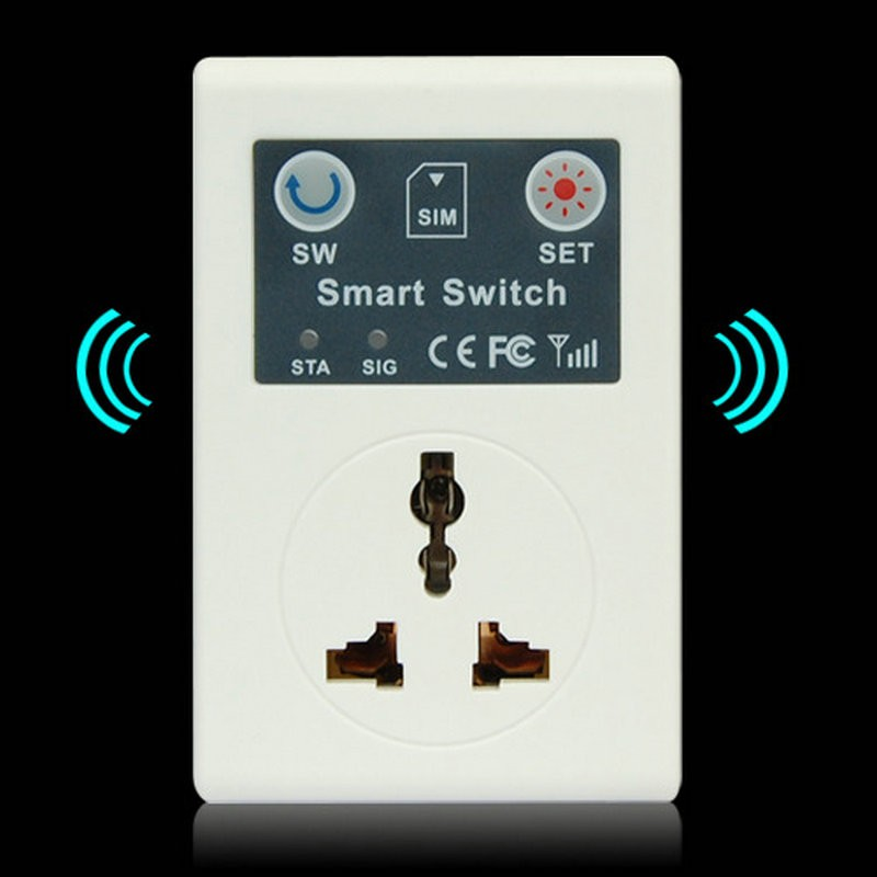 SC1-GSM smartphone GSM RC Remote Control Socket EU plug Power Smart Switch interruptor switches 900/1800MHz(China (Mainland))
