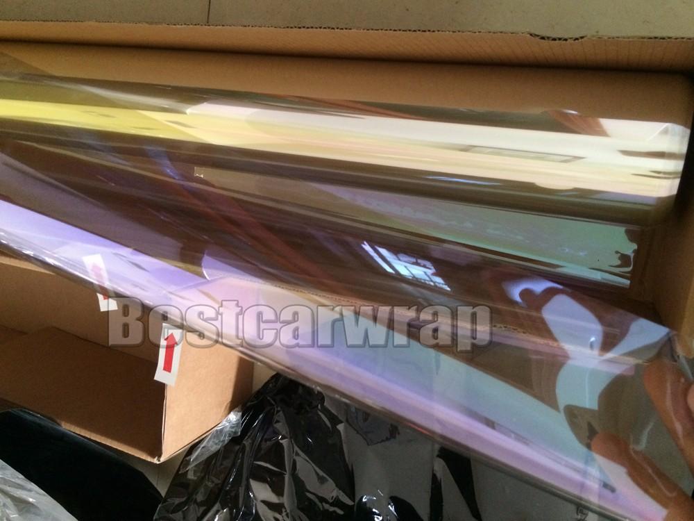 purple High performance window chameleon tint film (14)