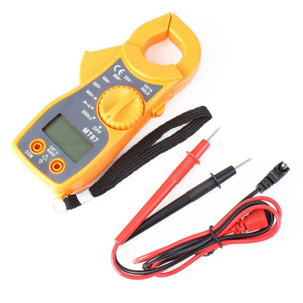 High Quality Digital Clip-on Multimeter Digital Meter Electronic LCD AC/DC Tester Clamp Table Meter(China (Mainland))