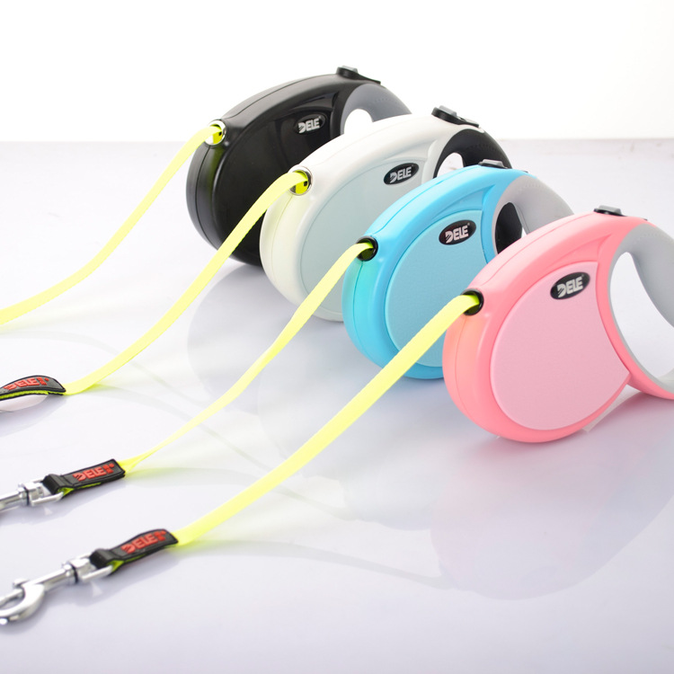 The new music type PRO are automatic traction with traction rope Gou Shengzi pet dog chain 3m4m5m8m(China (Mainland))