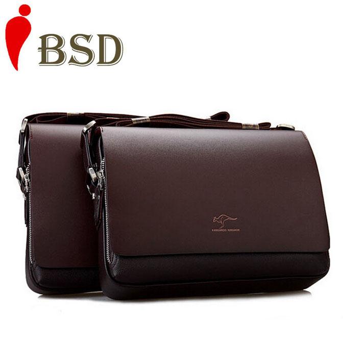 2016 Men briefcase men messenger bags high quality leather briefcases men brand laptop men's briefcase shoulder bag travel bags(China (Mainland))