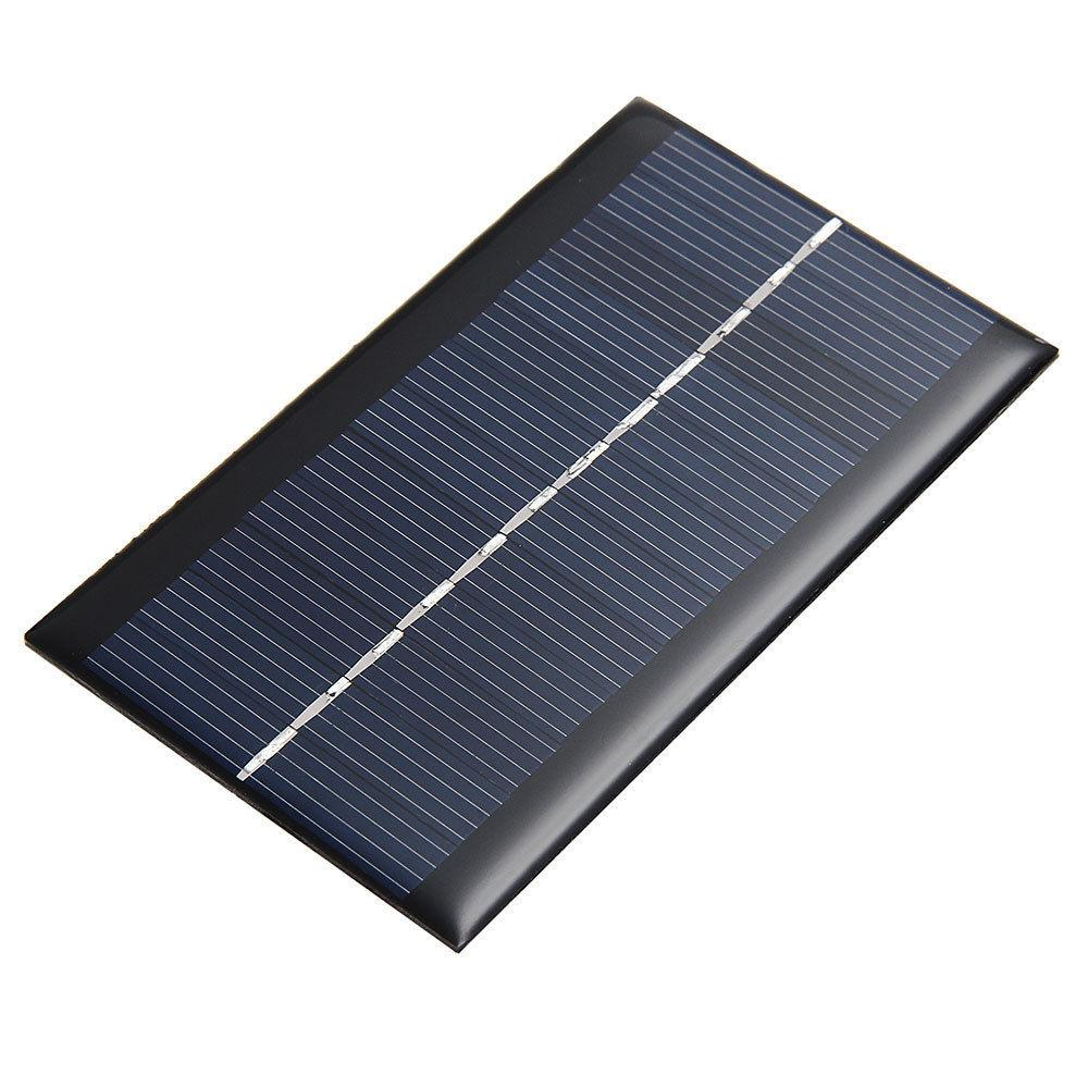 Mini 6V 1W Solar Power Panel Solar System DIY For Battery Cell Phone Chargers Portable Solar Panel(China (Mainland))
