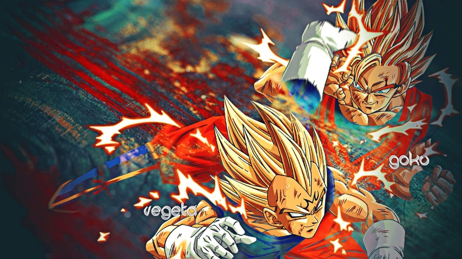 Compra goku vegeta juegos online al por mayor de china for Dragon ball z living room
