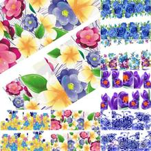 Beautiful Flowers Nail Art Nail Decals Water Transfer Stickers Decoration Hot  2KGF
