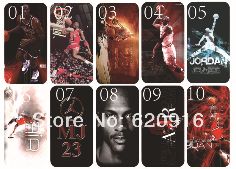 Fast delivery 2013 new skin design Michael Jordan case hard cover for iphone 5 5s bulk 10PCS/lot+free shipping in stock(China (Mainland))