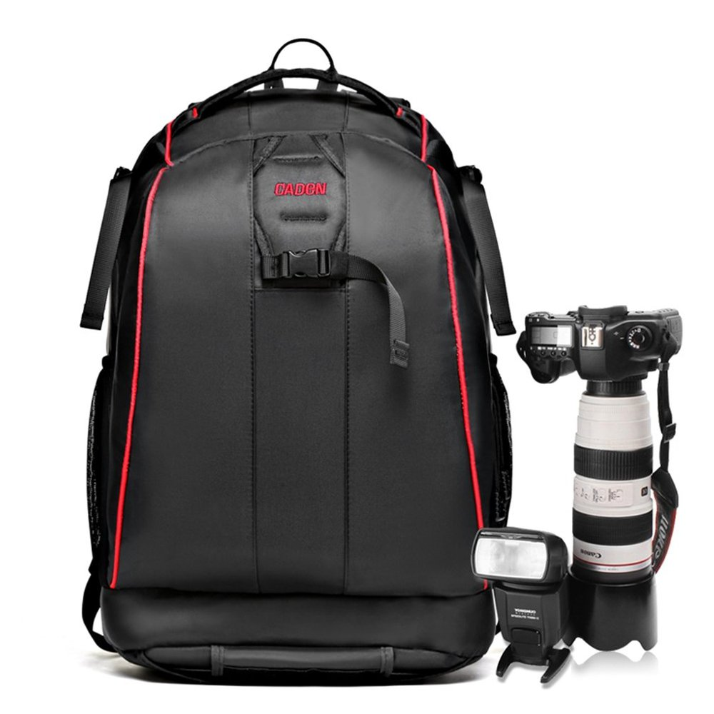 "Anti-theft Waterproof Nylon DSLR Camera Backpack Hatchback Outdoor Daypack, Black, 16.9""(China (Mainland))"