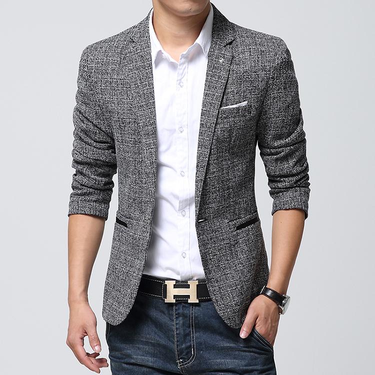 Blazer Casual Look Casual Suit Mens Blazers