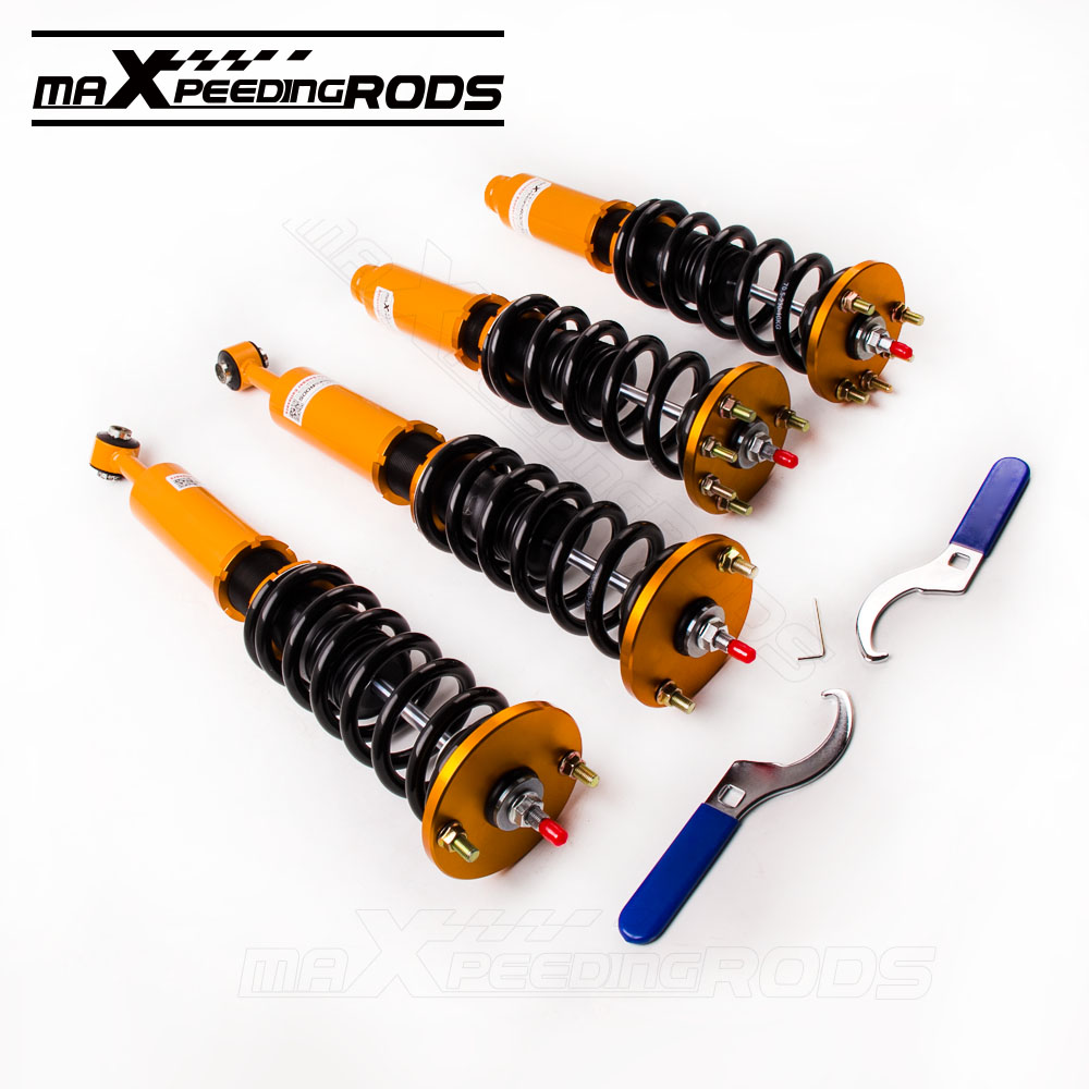 for Honda Accord 2003-2007 DX EX LX SE Coilovers Shock Shocks Coil Spring Suspension Full Adjustable Coilover Springs Struts new(China (Mainland))