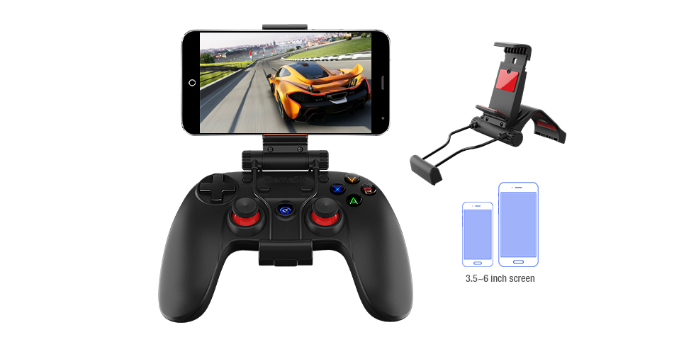GameSir G3s Bluetooth 2.4G Wired Gamepad Controller for Android TV BOX Smartphone Tablet PC Gear VR (China, US, ES Post)