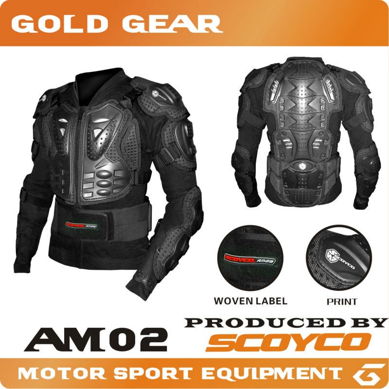 Protective Gears>>Jackets 2016 Scoyco AM02 Motocross Armor Full Protector Gears Racing Protective Motorcycle Armor Body Guards(China (Mainland))