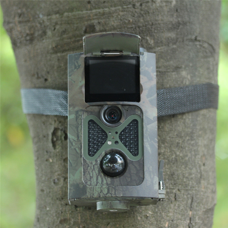 Гаджет  New Trail Hunting Camera Photo Trap Camouflage 1080P 12MP 120 degree wide Angle HD Infrared Cameras with Remote control None Спорт и развлечения