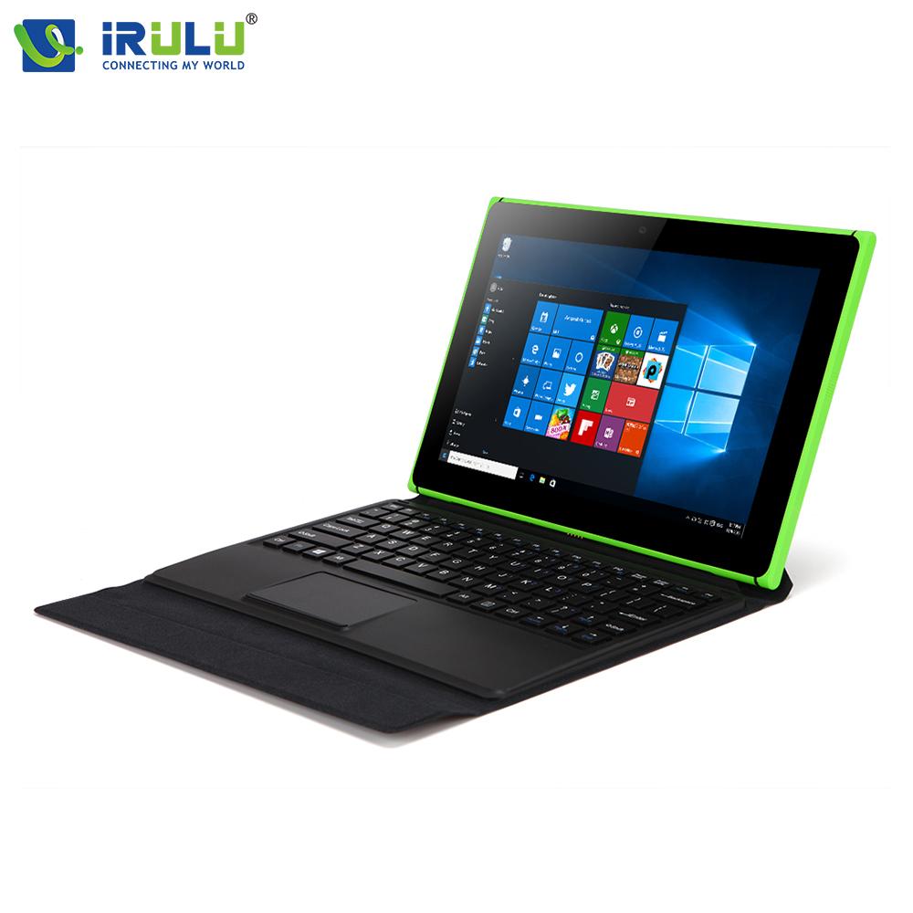 Original iRULU Windows 10 Tablets 10.1 Inch 1280x800 Quad Core 2GB RAM 32GB ROM OTG 2 in 1 Laptops 5MP Bluetooth Tablet(China (Mainland))