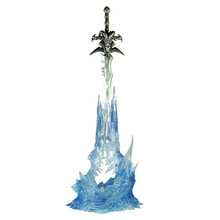 Arthas's Weapon lich king Frostmourne sword 22cm Boxed PVC Figure Toy(China (Mainland))