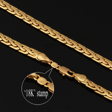 Gold Chain For Men 18k Plated Fashion Jewelry With 18K Stamp High Quality New Trendy Men