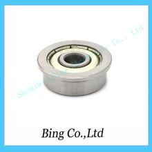 Free Shipping ! 10 pcs/lot  F624 ZZ 2RS flange bushing ball bearings F624ZZ 4*13*5mm