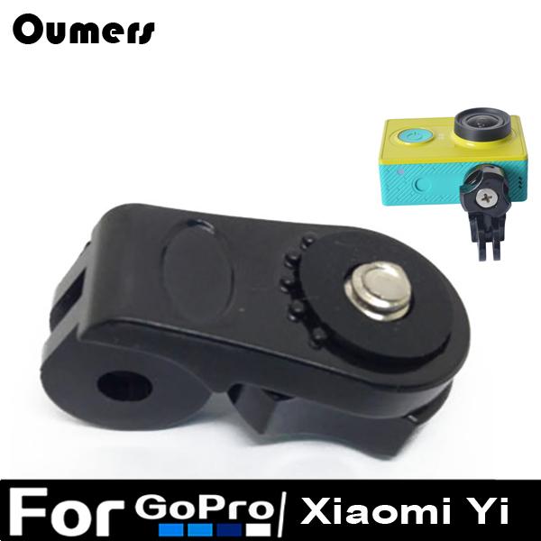 Xiaomi yi аксессуары мост xiaomi yi адаптер адаптера ставка для gopro герой xiaoyi гора общей камеры dslr 1/4