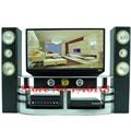 Free Shipping Mini Hi Fi 1 6 TV Home Theater Cabinet Set Combo for Barbie Dolls