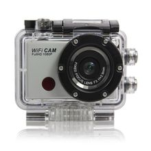 Nice Stock 12Mp Max Wifi Sports Action Waterproof Camera with 5Mp Sensor 1080P Full HD Video and Remote Control & Wifi App(China (Mainland))