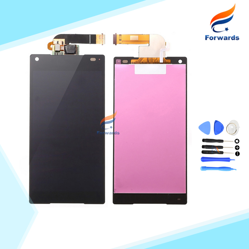 Free Shipping LCD for Sony Xperia Z5 Mini Compact E5823 E5803 Screen Display Touch Digitizer Assembly High Quality Free Tools