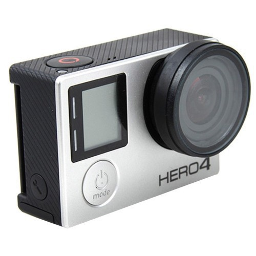 High Quality Protective UV Lens Optical Glass Lens Cover For Gopro Hero 4 3+ 3 Edition Camera for Go Pro Accessories