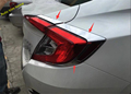 High Quality Accessories For Honda Civic 2016 2017 Sedan ABS Rear Tail Light Eyelid Cover Trim
