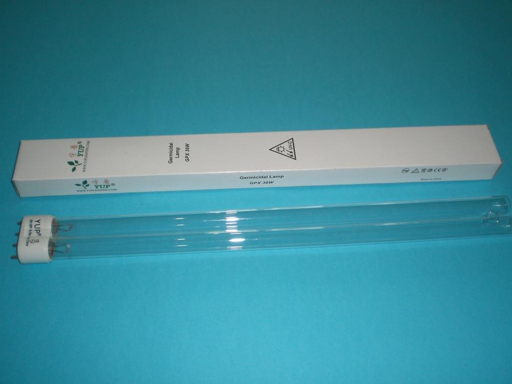 36W UV watt Sterilizer Replacement Bulb 2G11 Base Germicidal Lamp(China (Mainland))