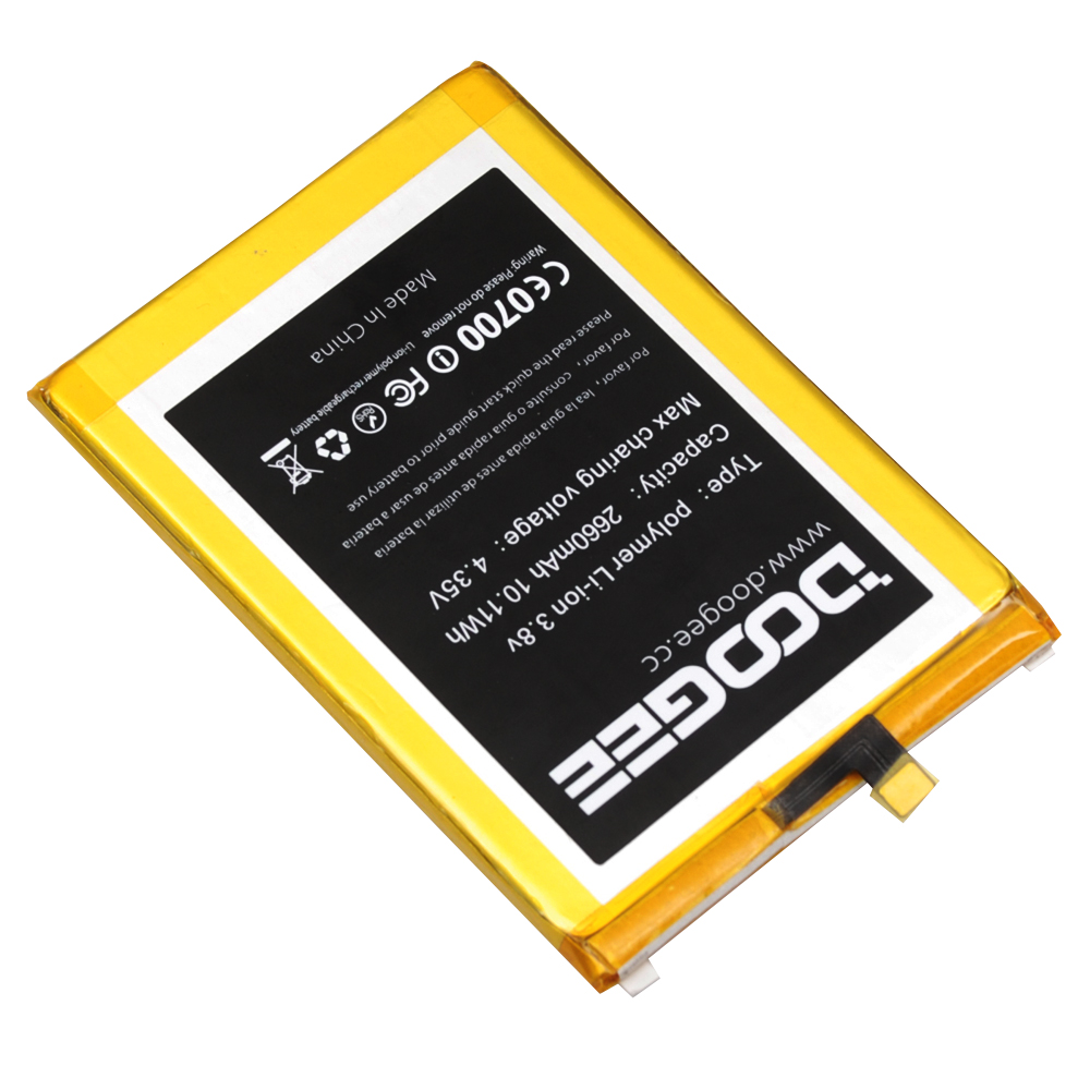 Doogee F5 Battery Replacement Original 2660mAh Smart Phone Parts backup battery for Doogee F5 in stock