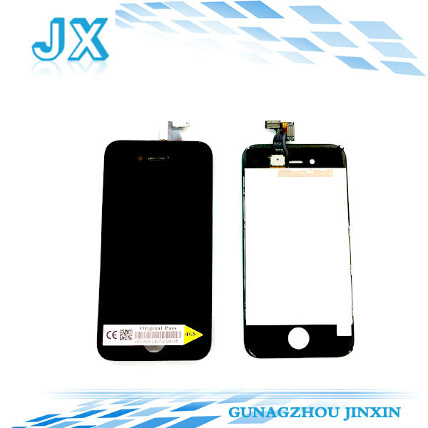 10pcs/lot Replacement LCD Screen and Digitizer For iPhone 4S 4GS white/black(China (Mainland))
