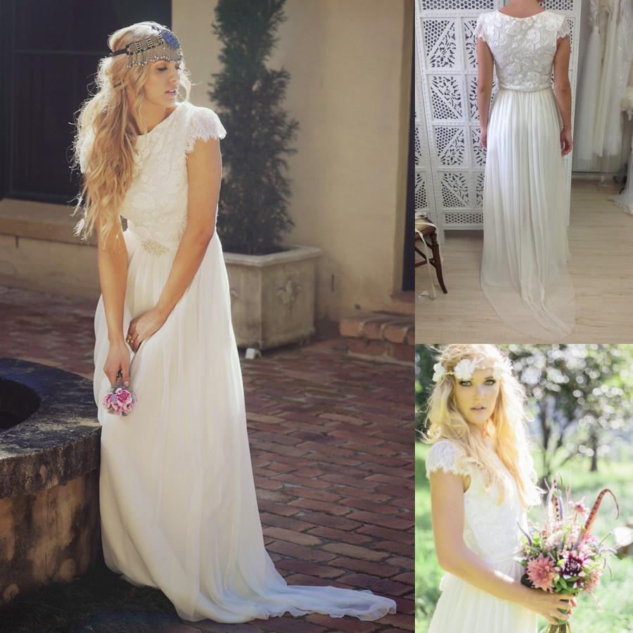 Earthy Wedding Dress