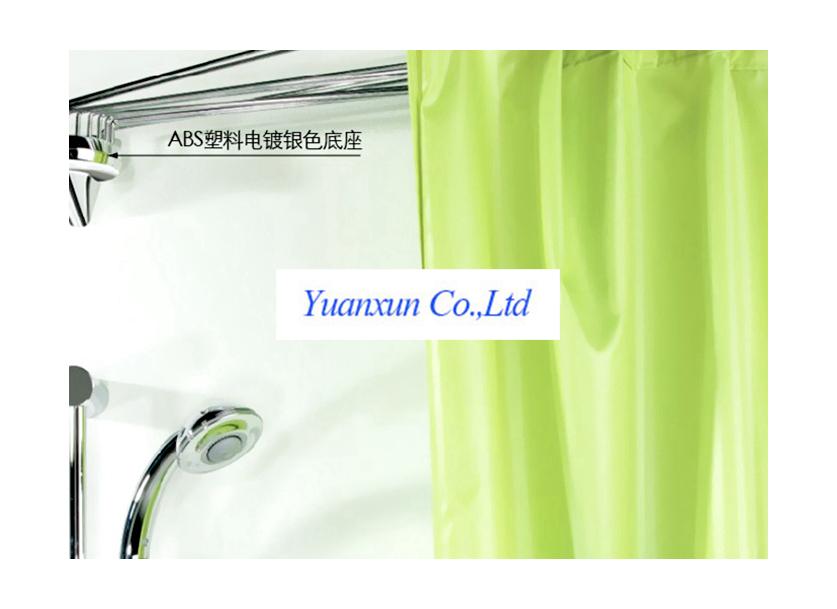 New fan 12 straight claw wall collapsible shower curtain rod locker shelf rack Shower(China (Mainland))