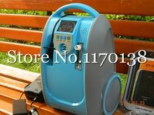 Мини физическая портативный концентратор кислорода генератор 40% — 90% PSA портативный генератор кислорода концентратор используется для дома / перемещения / автомобиль