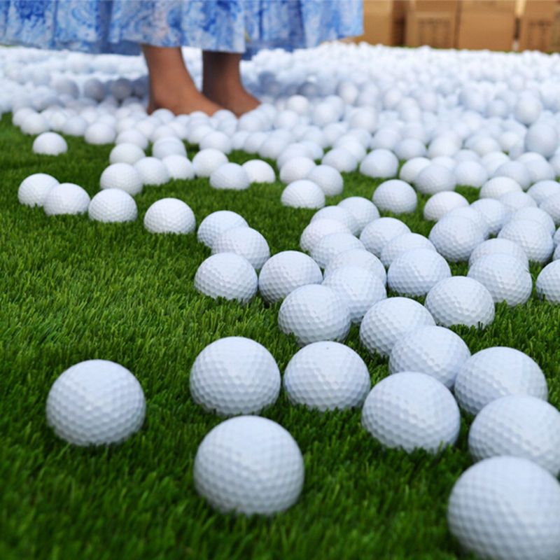 Outdoor sports White PU Foam Golf Ball Indoor Outdoor Practice Training Aid Golf Ball 10pcs(China (Mainland))