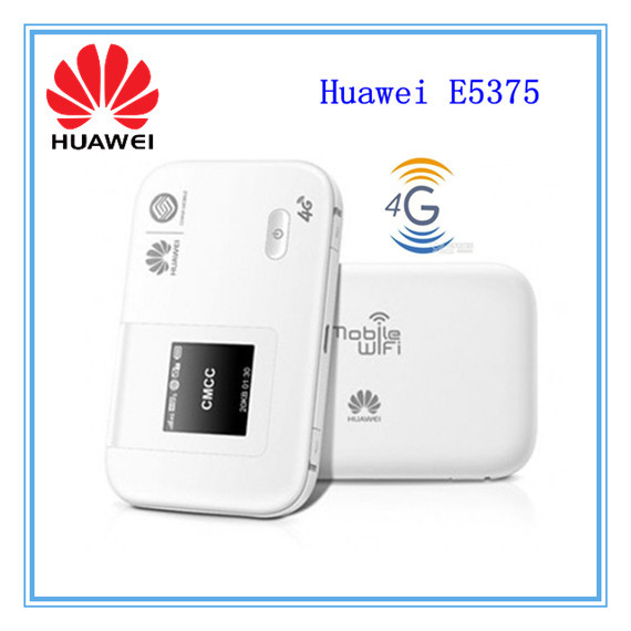 HUAWEI E5375 LTE Cat4 Mobile Hotspot 4G LTE Router WIFI router 4g router TDD FDD(China (Mainland))