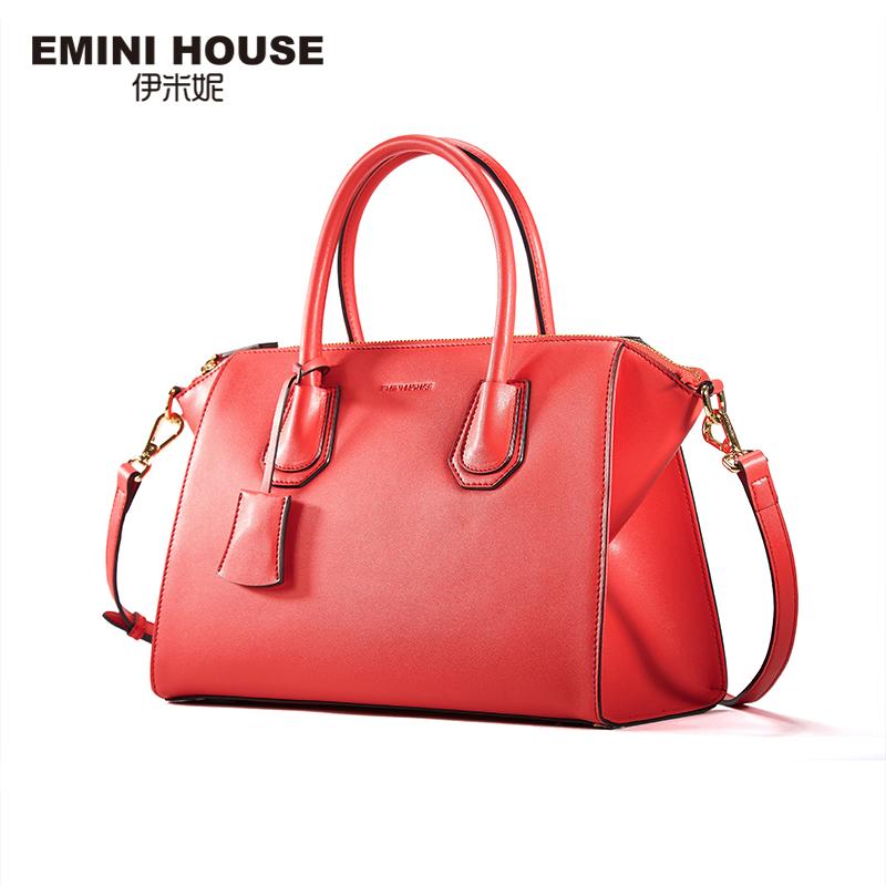 EMINI HOUSE 2016 New Design Crossbody Bags For Women Split Leather Shoulder Bags Luxury Women Handbag Classic Messenger Bag(China (Mainland))